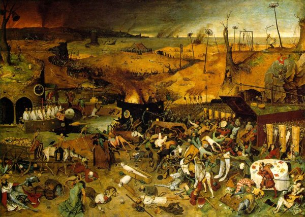 """The Triumph of Death"" Peter Bruegel, the Elder"