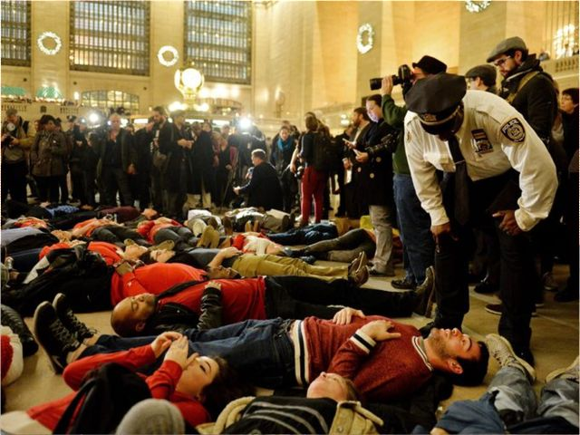 Grand Central Die-In