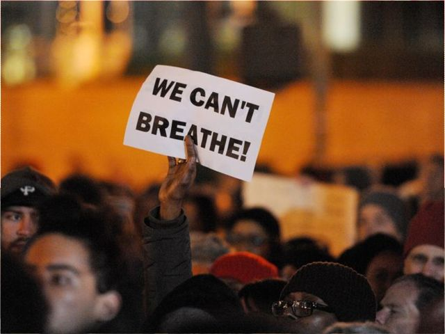 "Foley Square ""We Can't Breathe"""