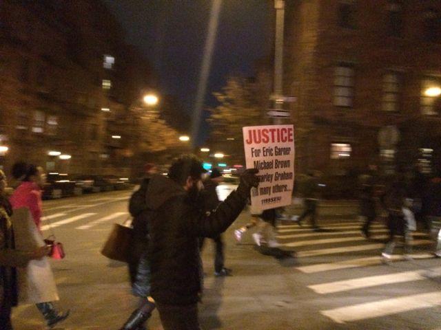 "protestors ""justice"""