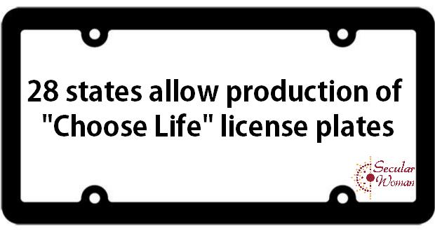 SW License Plates